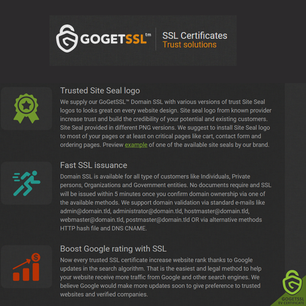 GoGet SSL